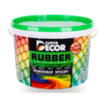 Super Decor Резиновая краска - izumrud - 12-kg