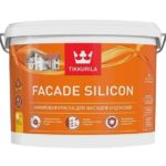 Тиккурила Фасад Силикон / Tikkurila Facade Silicon - vva-belyj - 0-9-l